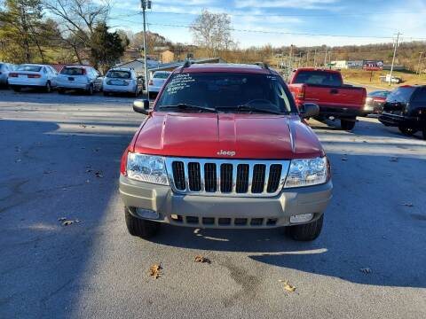 2002 Jeep Grand Cherokee for sale at DISCOUNT AUTO SALES in Johnson City TN