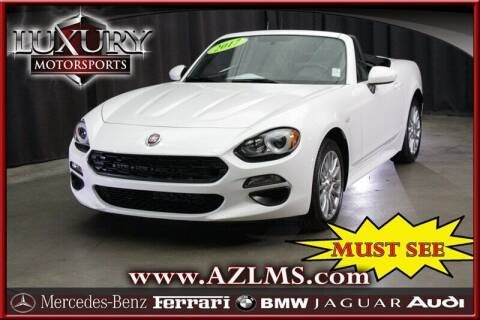 2017 FIAT 124 Spider for sale at Luxury Motorsports in Phoenix AZ
