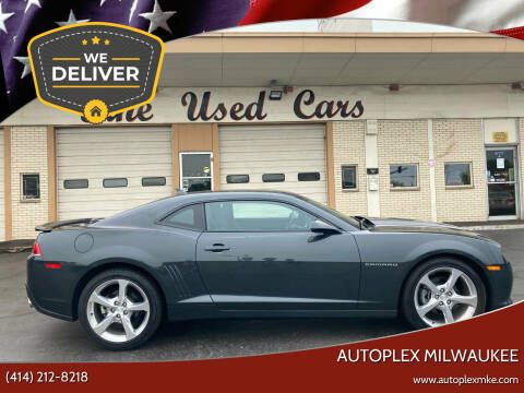2015 Chevrolet Camaro for sale at Autoplex 2 in Milwaukee WI