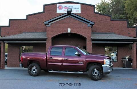 2013 Chevrolet Silverado 1500 for sale at Atlanta Auto Brokers in Cartersville GA
