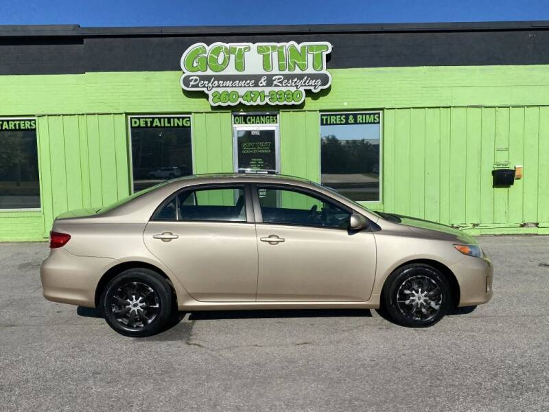 2011 Toyota Corolla for sale at GOT TINT AUTOMOTIVE SUPERSTORE in Fort Wayne IN