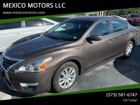 2013 Nissan Altima for sale at MEXICO MOTORS LLC in Mexico MO