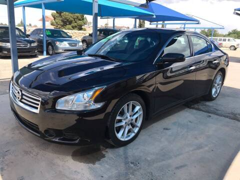 2014 Nissan Maxima for sale at Autos Montes in Socorro TX