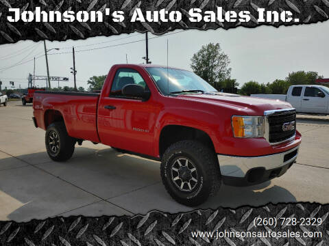 2014 GMC Sierra 2500HD for sale at Johnson's Auto Sales Inc. in Decatur IN
