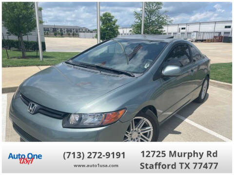 2008 Honda Civic for sale at Auto One USA in Stafford TX