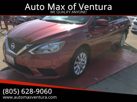 2017 Nissan Sentra for sale at Auto Max of Ventura in Ventura CA