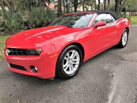 2013 Chevrolet Camaro for sale at DENMARK AUTO BROKERS in Riviera Beach FL