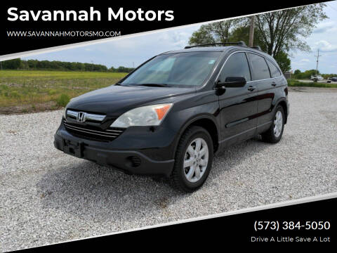 2009 Honda CR-V for sale at Savannah Motors in Elsberry MO