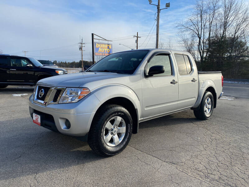2013 Nissan Frontier for sale at Dubes Auto Sales in Lewiston ME
