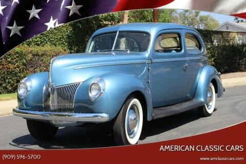1940 Ford Tudor for sale at American Classic Cars in La Verne CA