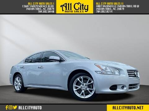 2014 Nissan Maxima for sale at All City Auto Sales in Indian Trail NC
