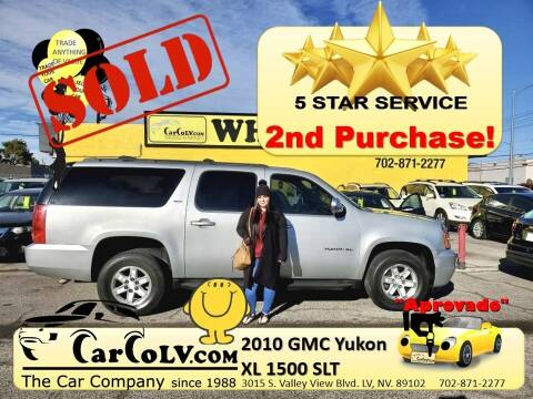 2010 GMC Yukon XL for sale at The Car Company in Las Vegas NV