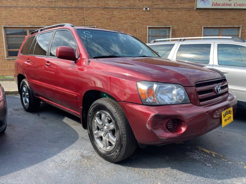 2006 Toyota Highlander for sale at Abrams Automotive Inc in Cincinnati OH