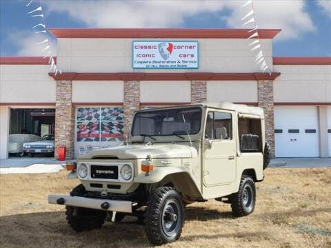 1983 Toyota Land Cruiser for sale at Iconic Motors of Oklahoma City, LLC in Oklahoma City OK
