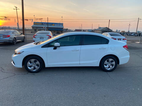 2014 Honda Civic for sale at First Choice Auto Sales in Bakersfield CA