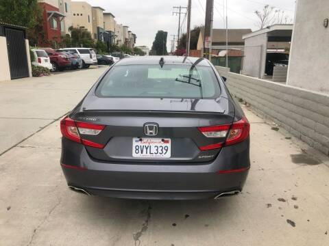 2020 Honda Accord for sale at Bell Auto Inc in Long Beach CA