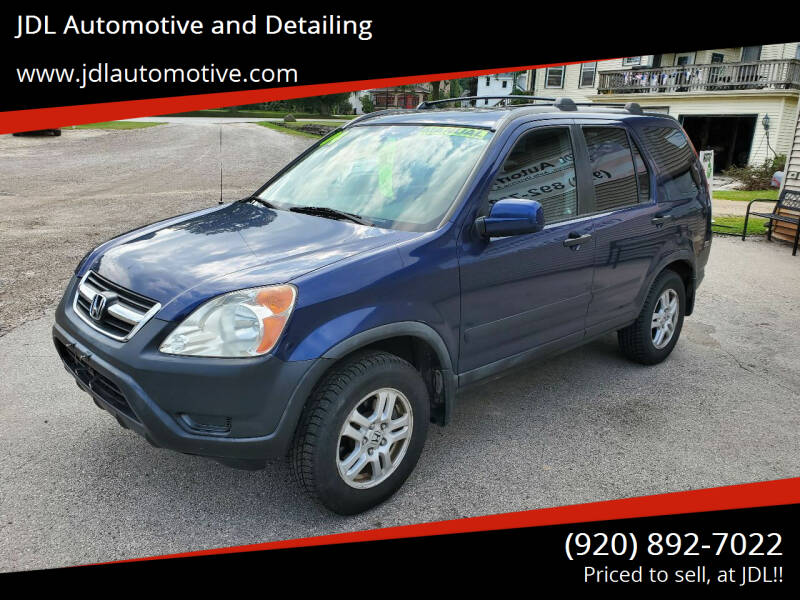 2004 Honda CR-V for sale at JDL Automotive and Detailing in Plymouth WI