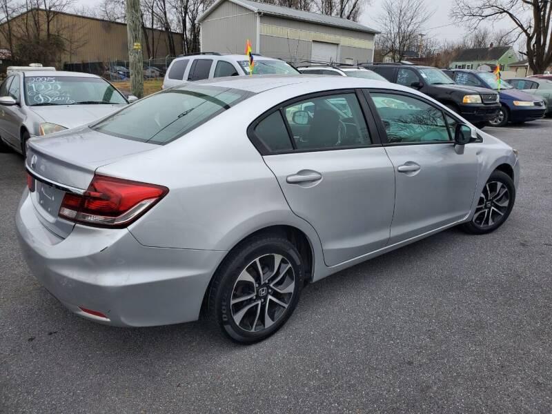 2013 Honda Civic for sale at Boris Auto Sales & Repairs in Harrisonburg VA