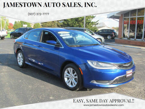 2015 Chrysler 200 for sale at Jamestown Auto Sales, Inc. in Xenia OH