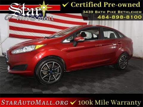 2016 Ford Fiesta for sale at STAR AUTO MALL 512 in Bethlehem PA