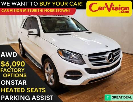 2018 Mercedes-Benz GLE for sale at Car Vision Mitsubishi Norristown in Trooper PA