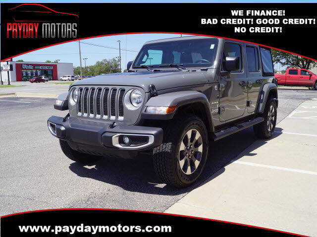 2018 Jeep Wrangler Unlimited for sale at Payday Motors in Wichita KS