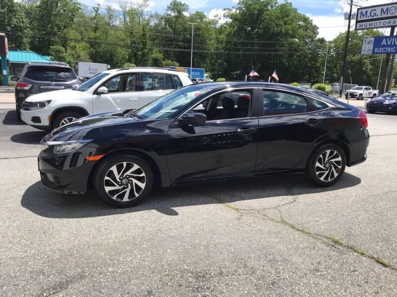 2016 Honda Civic for sale at M G Motors in Johnston RI