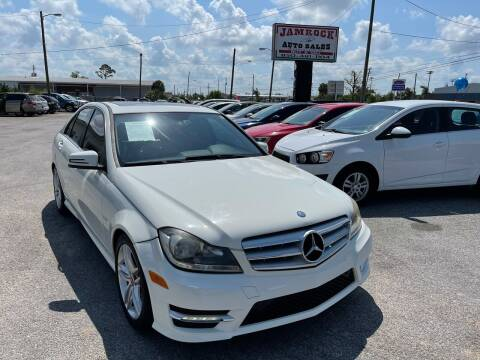 2012 Mercedes-Benz C-Class for sale at Jamrock Auto Sales of Panama City in Panama City FL