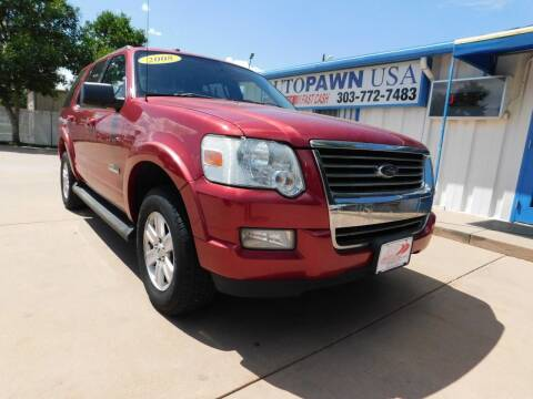 2008 Ford Explorer for sale at AP Auto Brokers in Longmont CO