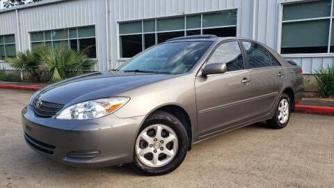 2002 Toyota Camry for sale at Houston Auto Preowned in Houston TX