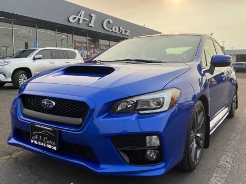 2016 Subaru WRX for sale at A1 Carz, Inc in Sacramento CA