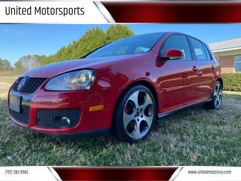 2009 Volkswagen GTI for sale at United Motorsports in Virginia Beach VA