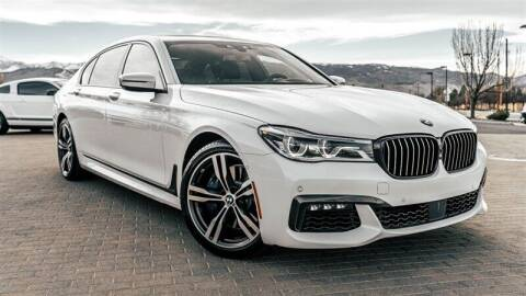 2017 BMW 7 Series for sale at MUSCLE MOTORS AUTO SALES INC in Reno NV