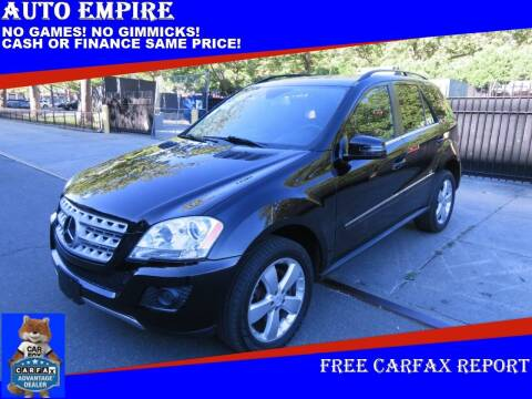 2011 Mercedes-Benz M-Class for sale at Auto Empire in Brooklyn NY