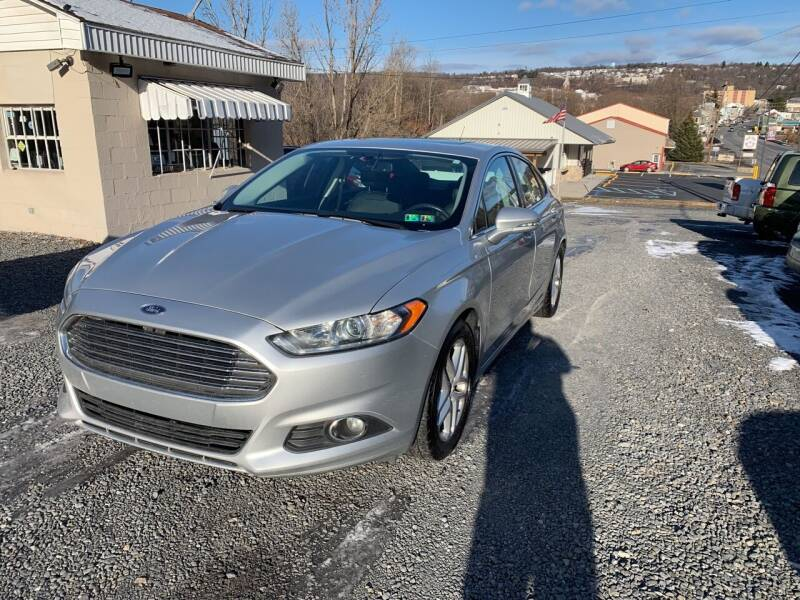 2015 Ford Fusion for sale at JM Auto Sales in Shenandoah PA