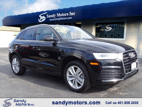 2018 Audi Q3 for sale at Sandy Motors Inc in Coventry RI