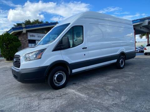 2016 Ford Transit Cargo for sale at ELITE AUTO WORLD in Fort Lauderdale FL