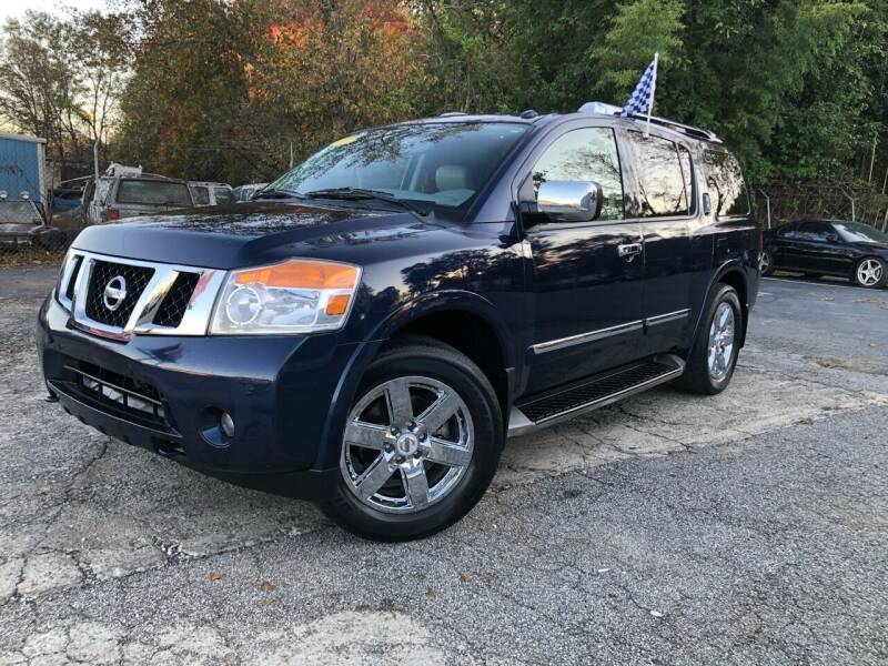 2010 Nissan Armada for sale at Atlas Auto Sales in Smyrna GA