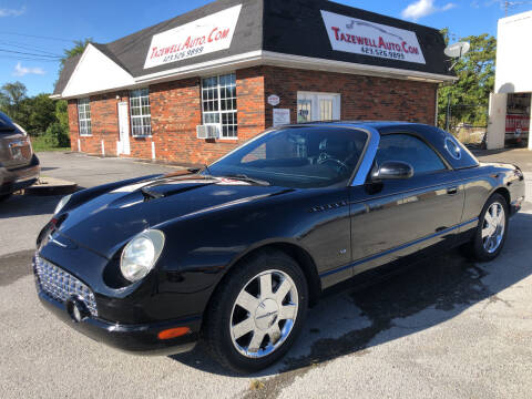 2003 Ford Thunderbird for sale at tazewellauto.com in Tazewell TN