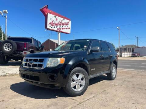 2008 Ford Escape for sale at Southwest Car Sales in Oklahoma City OK