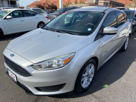 2015 Ford Focus for sale at Boulevard Motors in St George UT