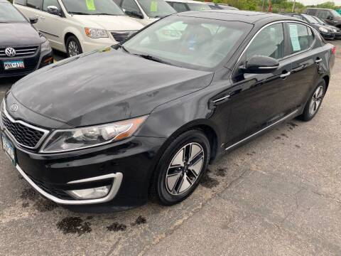 2012 Kia Optima Hybrid for sale at Auto Tech Car Sales and Leasing in Saint Paul MN