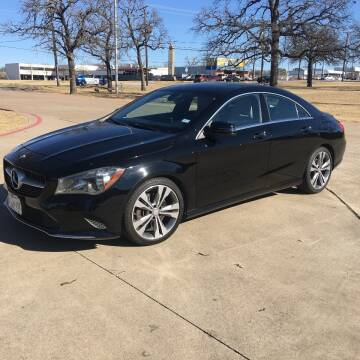 2017 Mercedes-Benz CLA for sale at RP AUTO SALES & LEASING in Arlington TX