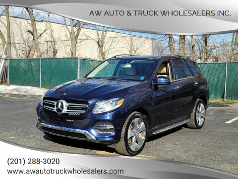2017 Mercedes-Benz GLE for sale at AW Auto & Truck Wholesalers  Inc. in Hasbrouck Heights NJ