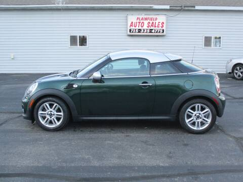2012 MINI Cooper Coupe for sale at Plainfield Auto Sales, LLC in Plainfield WI