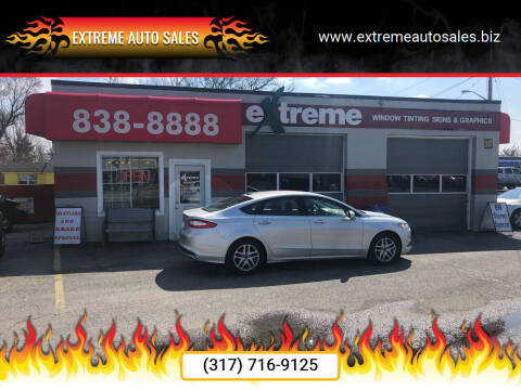 2016 Ford Fusion for sale at Extreme Auto Sales in Plainfield IN