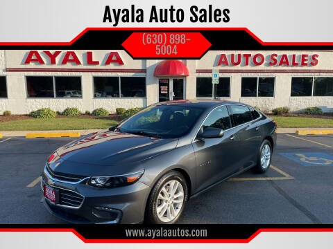 2017 Chevrolet Malibu for sale at Ayala Auto Sales in Aurora IL