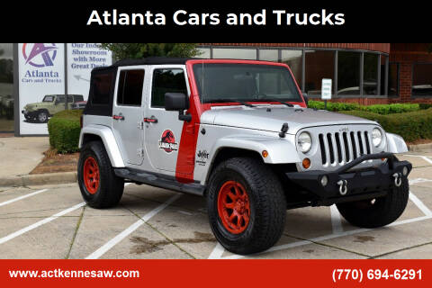 2008 Jeep Wrangler Unlimited for sale at Atlanta Cars and Trucks in Kennesaw GA