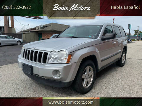2007 Jeep Grand Cherokee for sale at Boise Motorz in Boise ID