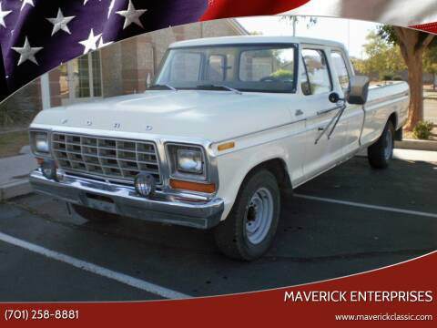 1979 Ford F-250 for sale at Maverick Enterprises in Pollock SD